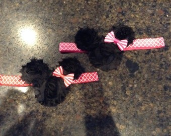 Minnie Mouse Red/Pink Headband