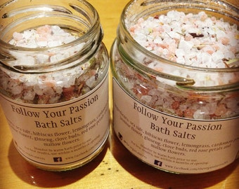Follow Your Passion bath salts