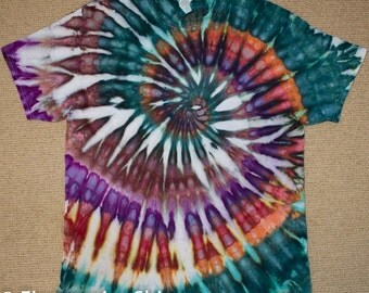 "MADE TO ORDER - Spiral ""Ammanite"" Psychedelic Tie Dye"