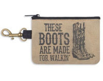 These Boots Coin Purse