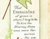 SAINT PATRICK'S DAY Postcard circa 1920s