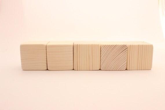 unfinished wooden blocks 2 5 cm 2 inch blocks from woofwoofwood on etsy studio. Black Bedroom Furniture Sets. Home Design Ideas
