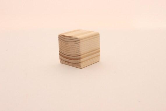 set of 10 pine wooden blocks 1 1 2 inch 4 cm unfinished wood blocks blocks with extra. Black Bedroom Furniture Sets. Home Design Ideas