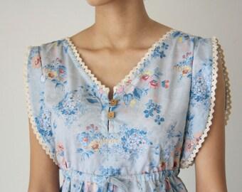 Sweet Pastel Blue Dress