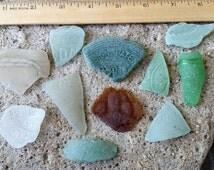 Genuine Sea Glass Beautifully Imprinted