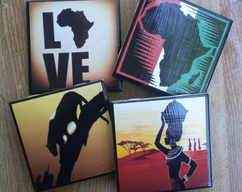 Africa Pride Coasters