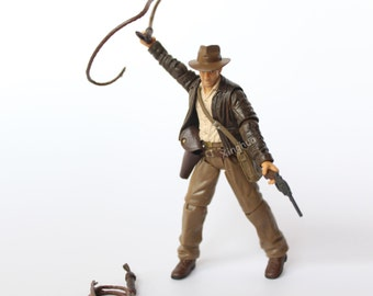 1/18 Scale Raiders of the Lost Ark Young Indiana Jones Action Figure Model Toy