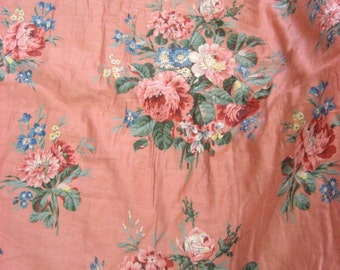 Lovely Vintage 1940s American Cotton Quilt (9538)