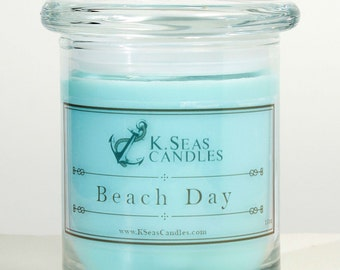 Beach Day Candle
