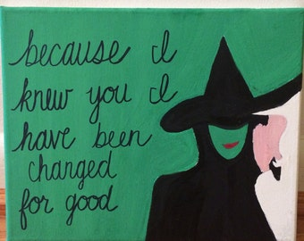 For Good Wicked Canvas