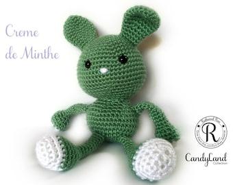 Creme de Menthe Rachel - Green Rabbit