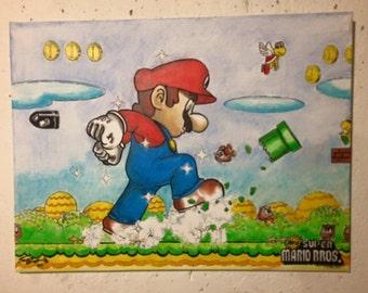 Super Mario World Painting