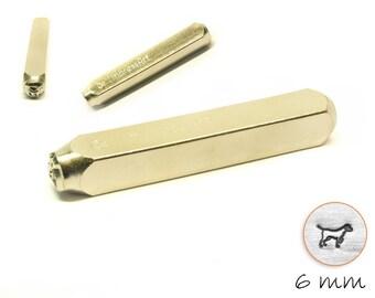 1 design stamp dog punch hallmark lab Retriever