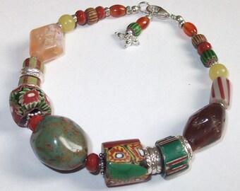 Past & Present Beaded Bracelet