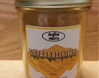 Wafflehouse Scented Candle