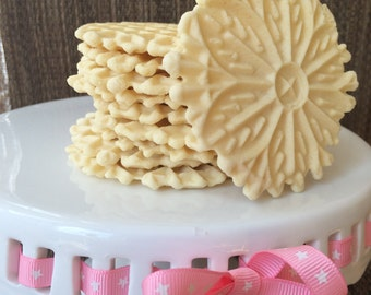 Pizzelles Homemade Italian Wafer Cookies