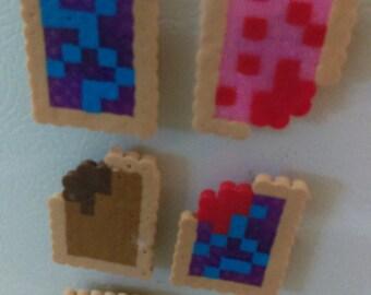 Pop Tart Kitchen Magnet Set