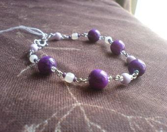 Beads Bracelet stones Sugilite