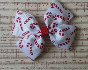 Girls Holiday hair bow