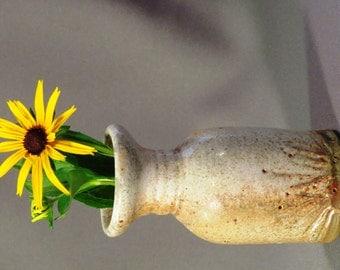 Creamy Bud Vase