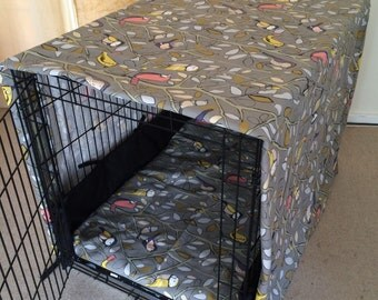 XXL ( 42 inch/108cm) length dog crate cover. Made From 100%cotton duck canvas.