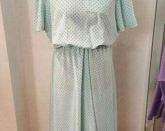 Vintage 1940s Dress Size 22