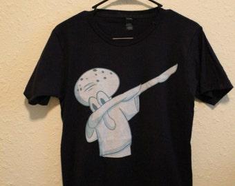 Squidward Dab Original Art Shirt