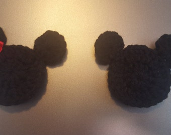 Minnie and mickey magnets