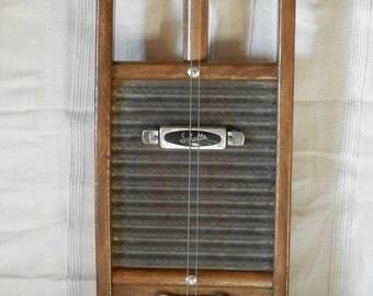 A Washboard Electric Slide Guitar