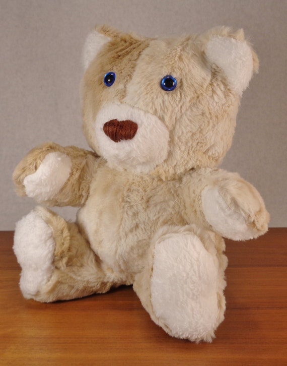 Handmade minky teddy bear heirloom children s toy unique