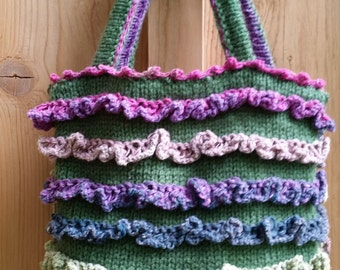 Cute ruffles bag