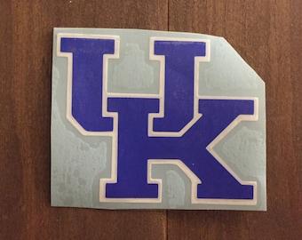 University of Kentucky decal - UK Wildcats - UK decal - yeti decal, MacBook decal, laptop decal, tumbler decal, car decal