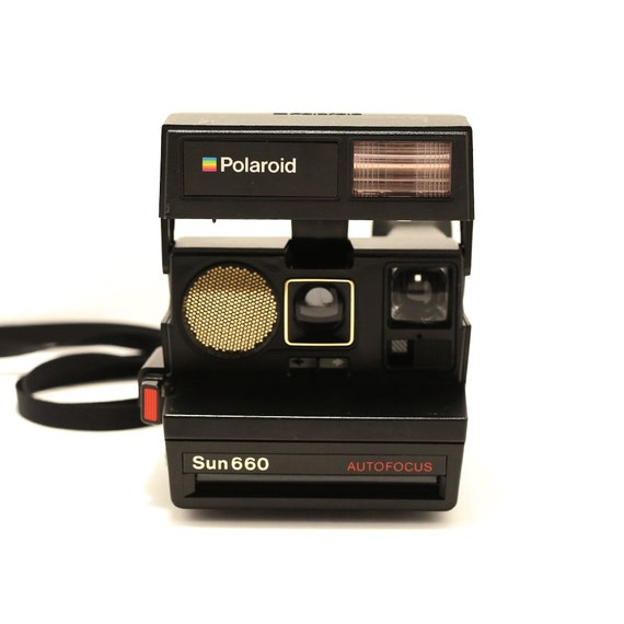 polaroid sun 660 autofocus af instant 600 film land camera. Black Bedroom Furniture Sets. Home Design Ideas