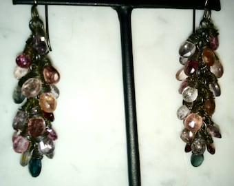 Spinel Gemstone Earrings