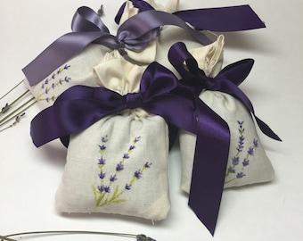 Organic Lavender Sachet 3 pieces