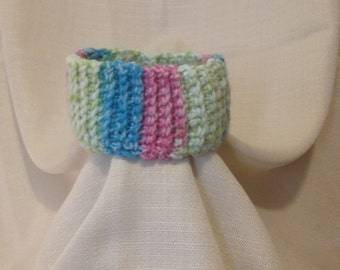 Sweet Pastel Multicolor Baby Headband