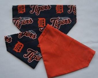 Detroit Tigers Over the Collar Dog Bandana