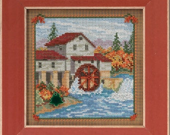 Mill Hill Button & Beads Cross Stitch Kit COUNTRY MILL