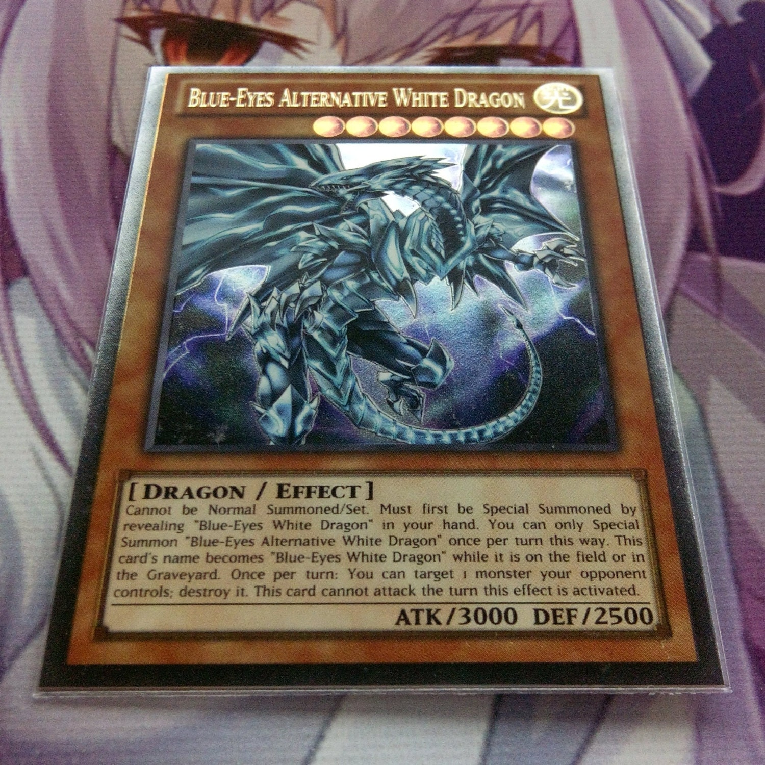 blue eyes alternative white dragon 2 ultra rare orica proxy