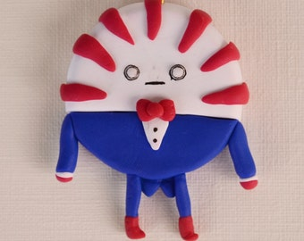 Adventure Time PEPPERMINT BUTLER Charm Keychain