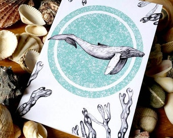 Humpback Whale Notebook (A6)
