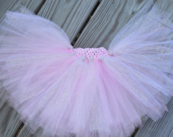 Pink and Sparkly Gold Baby/Toddler Tutu