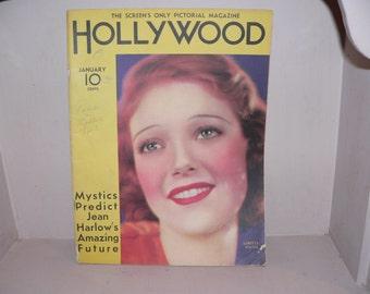 January 1933 Issue of Hollywood Magazine