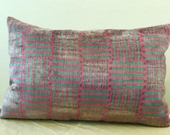 Uzbek velvet pillow cover # 4