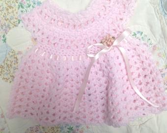 Darling Pink Baby Dress