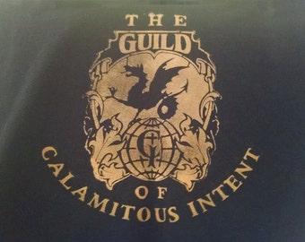 The Venture Bros Guild of Calamitous Intent Bleach Shirt