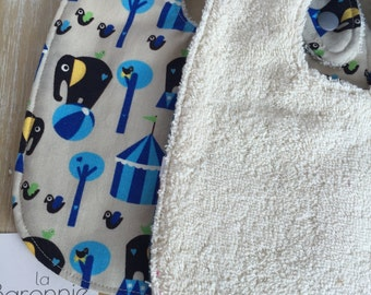 100% organic cotton baby bib