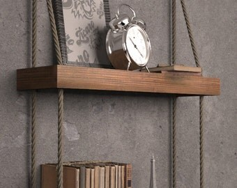 Shelf wood - 68 centimeters in length, double.