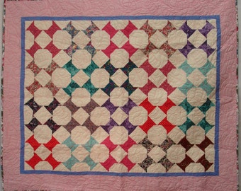 Pretty in Pink Spools Quilt