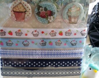 lemon craft ribbon embellishment pack